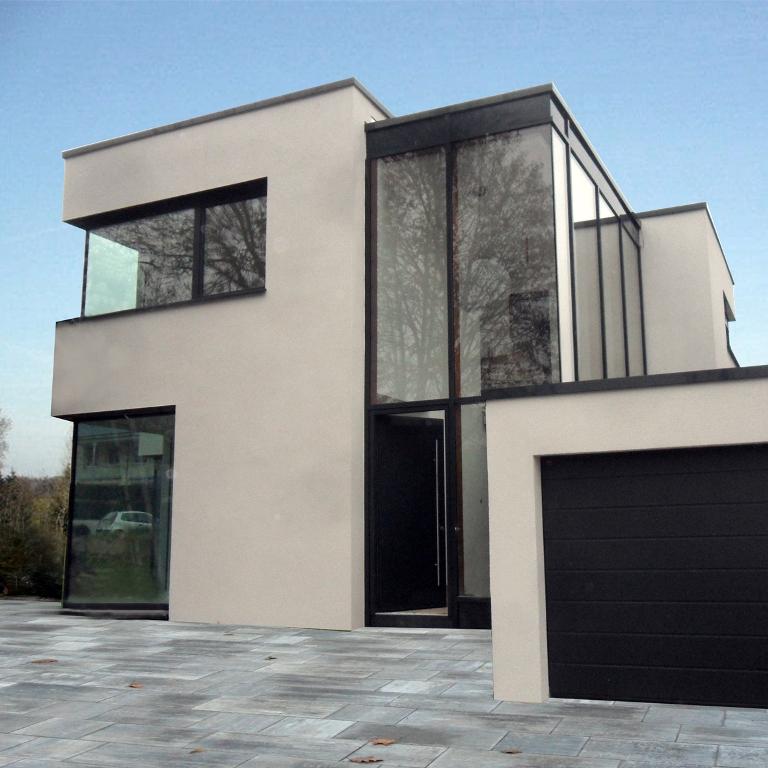 wohnhaus heilbronn holz alu glasfassade. Black Bedroom Furniture Sets. Home Design Ideas