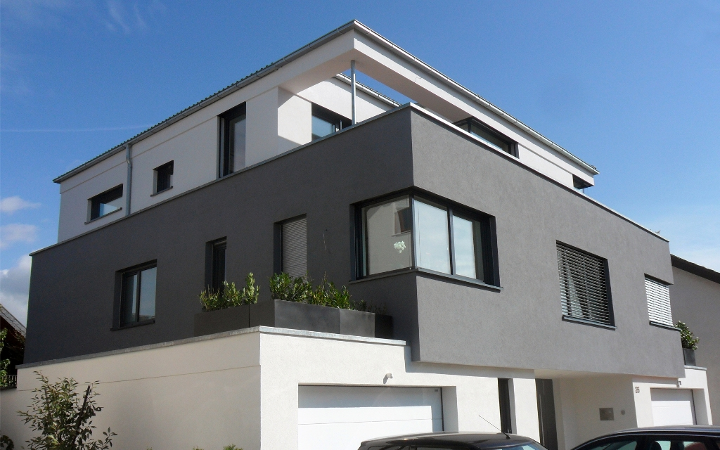 zweifamilienhaus sandhausen. Black Bedroom Furniture Sets. Home Design Ideas
