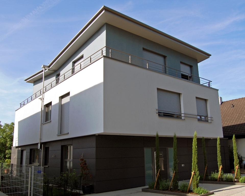 wohnhaus sandhausen schmetterlingsdach. Black Bedroom Furniture Sets. Home Design Ideas
