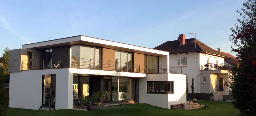 Wohnhaus sandhausen architektenhaus for Wohnhaus bauen